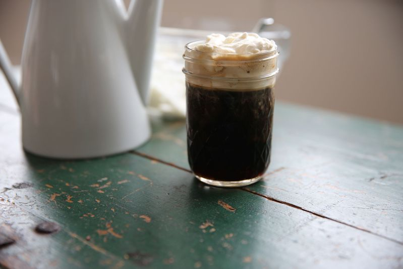 Ирландский кофе в банке Ball Mason Jar